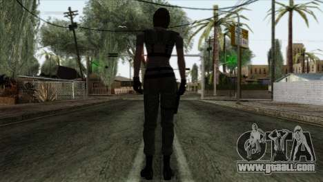 Resident Evil Skin 4 for GTA San Andreas second screenshot