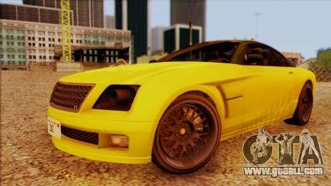 Schyster Fusilade Sport 1.0 (HQLM) for GTA San Andreas right view
