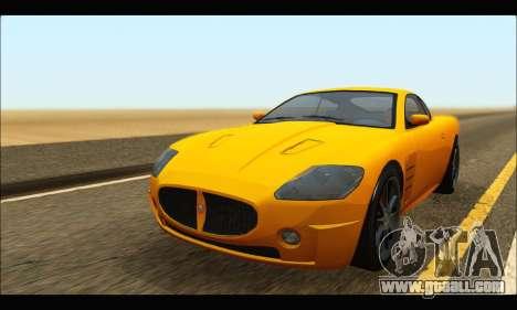 Ocelot  F620 (GTA V) for GTA San Andreas