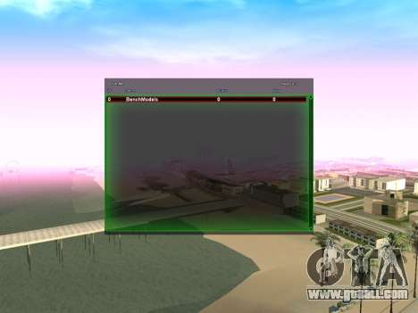 New green SampGUI for GTA San Andreas