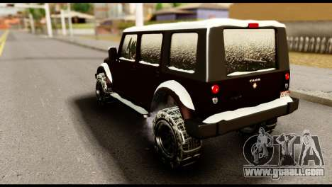 GTA 5 Mesa for GTA San Andreas left view