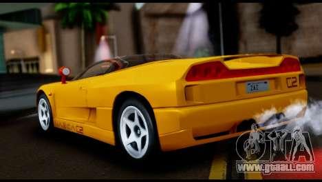 BMW Italdesign Nazca C2 1991 for GTA San Andreas left view