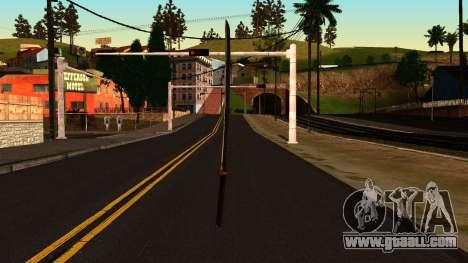 Katana from Shadow Warrior for GTA San Andreas second screenshot