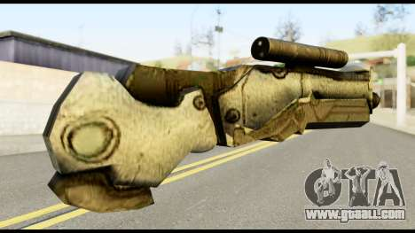 Plasmagun from Metal Gear Solid for GTA San Andreas second screenshot
