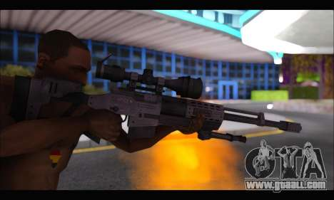 Raab KM50 Sniper Rifle From F.E.A.R. 2 for GTA San Andreas fifth screenshot