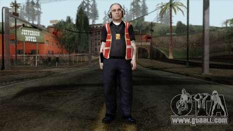 GTA 4 Skin 17 for GTA San Andreas