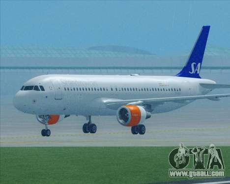 Airbus A320-200 Scandinavian Airlines - SAS for GTA San Andreas