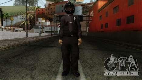 GTA 4 Skin 40 for GTA San Andreas