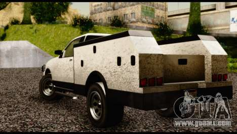 Utility Van from GTA 5 for GTA San Andreas left view