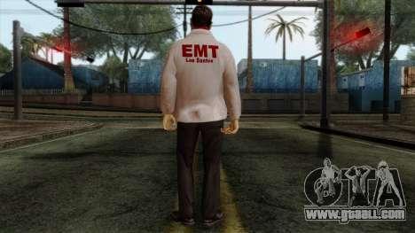 Police Skin 10 for GTA San Andreas second screenshot