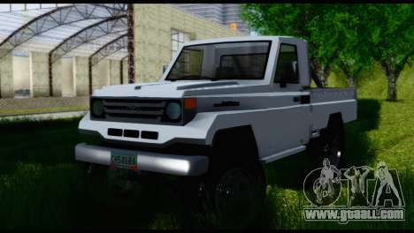 Toyota Land Cruiser Macho Pick-Up 2007 4.500 for GTA San Andreas right view