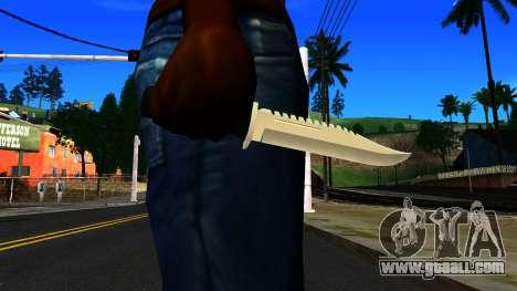 Knife from GTA 4 for GTA San Andreas third screenshot