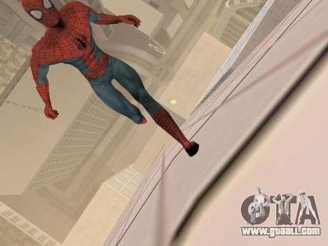 Spiderman 3 Crawling for GTA San Andreas