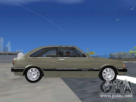 Chevrolet Chevette Hatch for GTA San Andreas back view