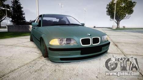 BMW E46 M3 2000 for GTA 4