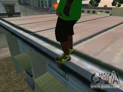 Fam3 Skin for GTA San Andreas third screenshot