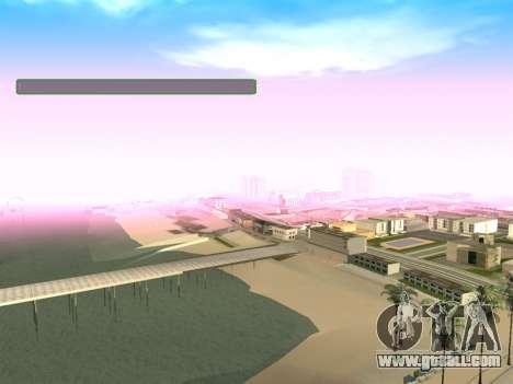 New green SampGUI for GTA San Andreas second screenshot