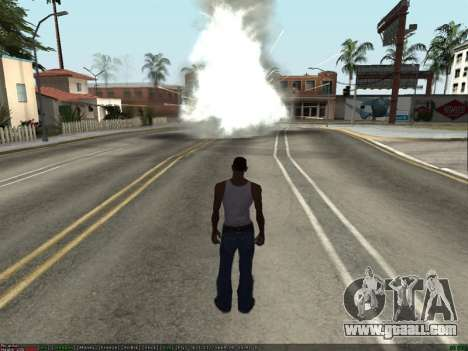 New Effects Pack White Version for GTA San Andreas third screenshot