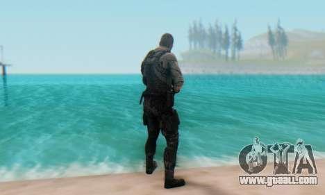 Sam Fisher - Paladin Outfit (Splinter Cell Black for GTA San Andreas third screenshot