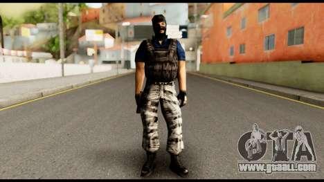 Counter Strike Skin 2 for GTA San Andreas