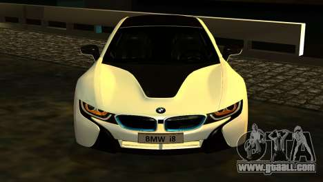 BMW I8 2013 for GTA San Andreas right view