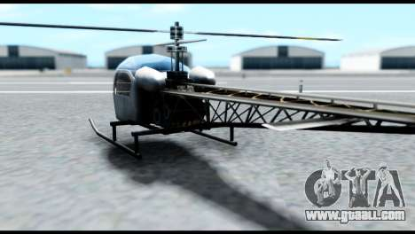 Beta Sparrow for GTA San Andreas left view