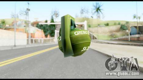 MGS1-2 Grenade from Metal Gear Solid for GTA San Andreas