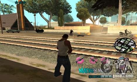 C-HUD Mickey Mouse for GTA San Andreas forth screenshot