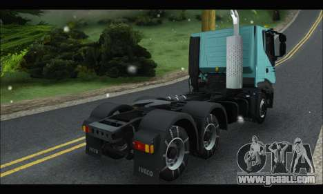 Iveco Trakker 2014 Snow for GTA San Andreas right view