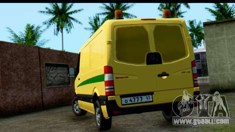 Mercedes-Benz Sprinter Collection Russia for GTA San Andreas back left view