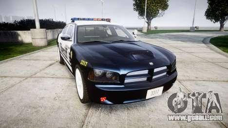 Dodge Charger SRT8 2010 Sheriff [ELS] for GTA 4