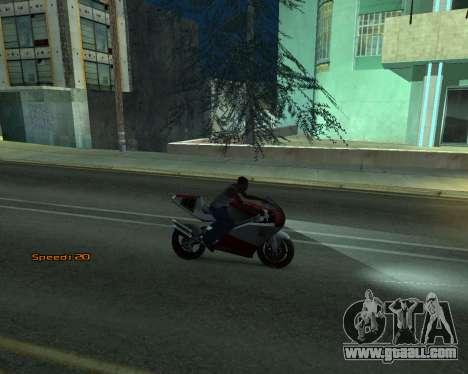 Car Speed for GTA San Andreas fifth screenshot