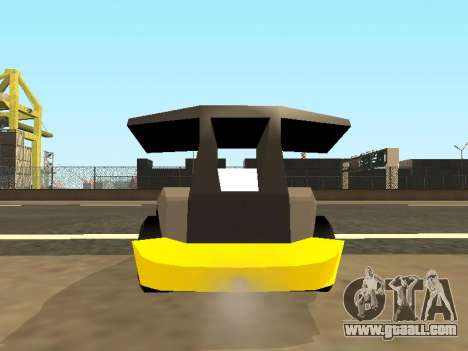 RC Bandit (Automotive) for GTA San Andreas inner view