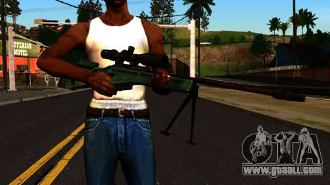 SV-98 with a Bipod and Scope for GTA San Andreas third screenshot