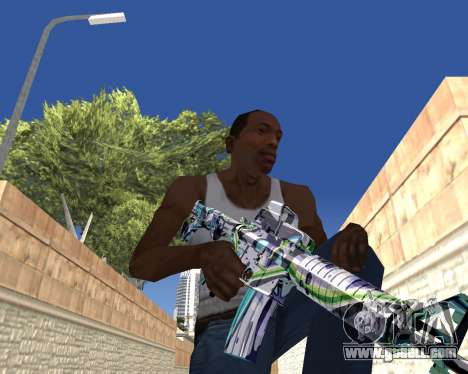 Graffity weapons for GTA San Andreas eighth screenshot