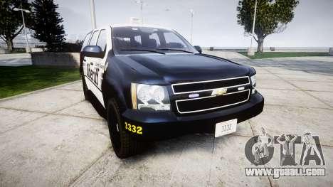 Chevrolet Tahoe 2013 County Sheriff [ELS] for GTA 4