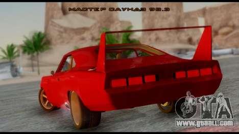 Dodge Charger Daytona for GTA San Andreas left view