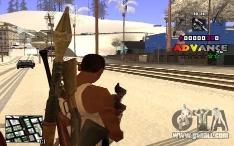 C-HUD Advance RP for GTA San Andreas third screenshot