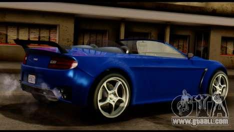 GTA 5 Dewbauchee Rapid GT Cabrio [HQLM] for GTA San Andreas right view