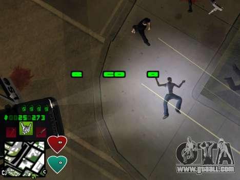 C-HUD Classic v4.1 for GTA San Andreas sixth screenshot