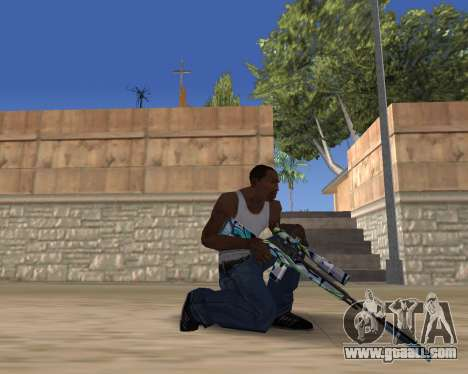 Graffity weapons for GTA San Andreas third screenshot