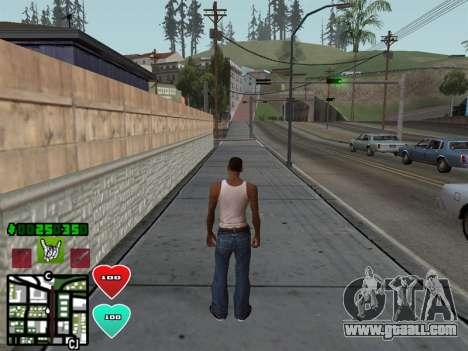 C-HUD Classic v4.1 for GTA San Andreas