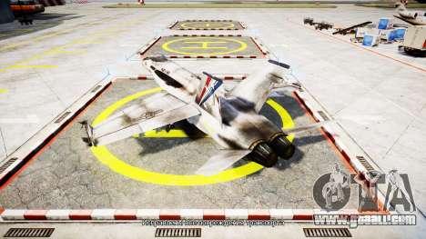 McDonnell Douglas FA-18 Hornet for GTA 4 left view