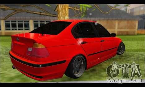 BMW e46 Sedan V2 for GTA San Andreas right view