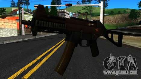 UMP9 from Battlefield 4 v1 for GTA San Andreas