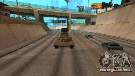 Transport tank trailer for GTA San Andreas forth screenshot