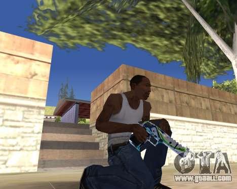 Graffity weapons for GTA San Andreas fifth screenshot