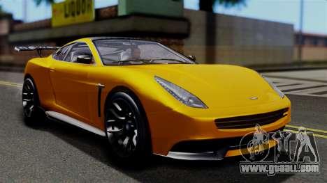 GTA 5 Dewbauchee Massacro Racecar SA Mobile for GTA San Andreas