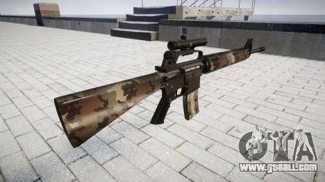 The M16A2 rifle [optical] erdl for GTA 4 second screenshot