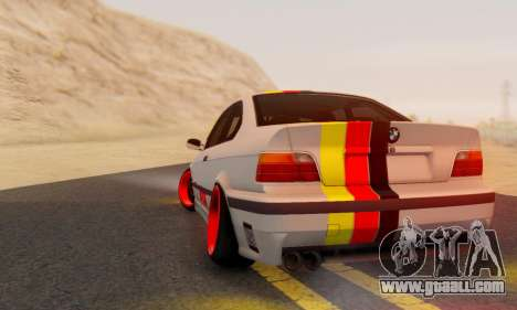BMW M3 E36 German Style for GTA San Andreas left view